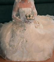 продаю счастливое свадебное платье размер 40-44р